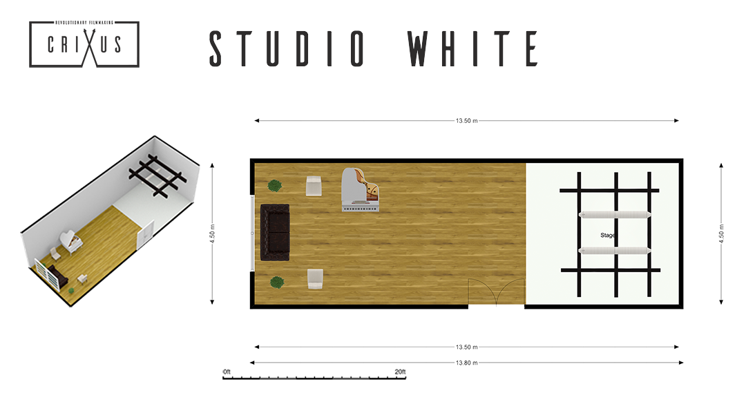 Crixus Studio White