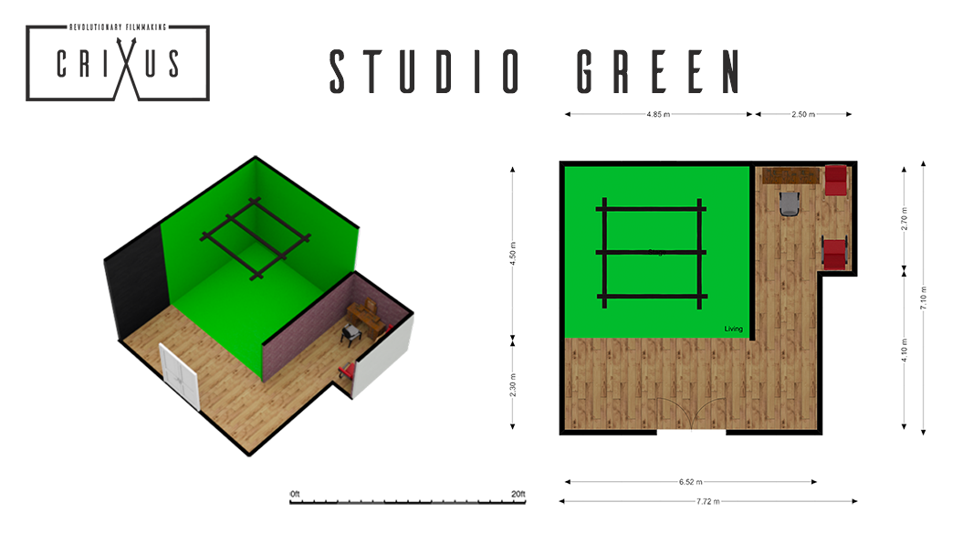 Crixus Studio Green